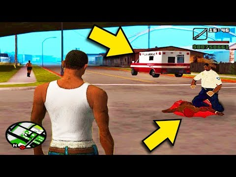 De onde sai a AMBULÂNCIA do GTA SAN ANDREAS?