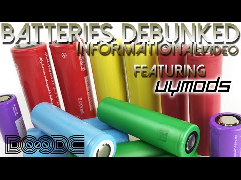 Know Your Vape: Batteries Debunked Featuring @uymods