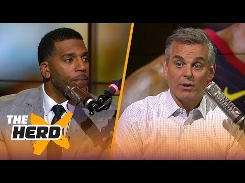 Jim Jackson and Colin Cowherd breakdown LeBron James' supporting cast strength | NBA | THE HERD