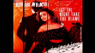 LORRAINE McKANE - Let the night take the blame (Subtitulos en español)