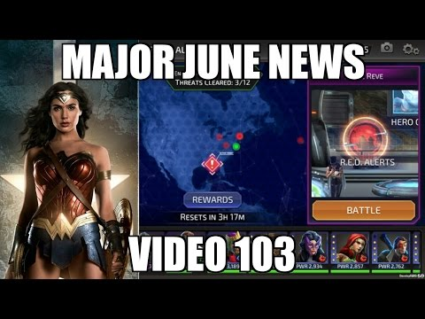 DC Legends Game Video 103 = Major News for June