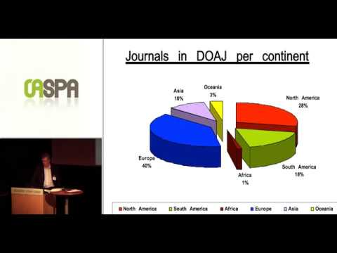 The Directory of Open Access Journals -- The Development of the...