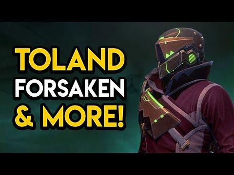 Destiny 2 - TOLAND RETURNS! Forsaken Realm, God Secrets, MORE!