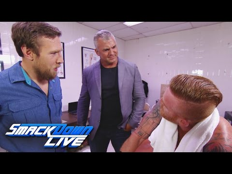 Find out why Heath Slater is not a member of the SmackDown Live: SmackDown Live, Aug. 16, 2016