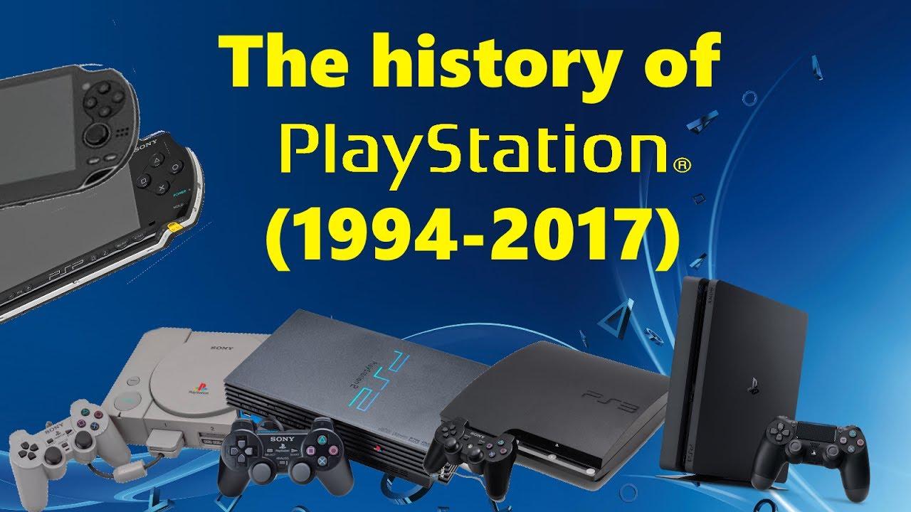 HISTORY OF SONY PLAYSTATION (1994-2017) - YouTube