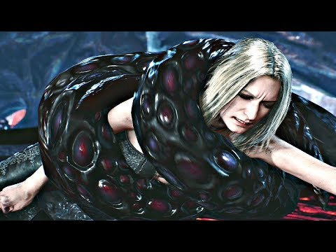 DEVIL MAY CRY 5 - Lady \u0026 Trish Attacked by Tentacles