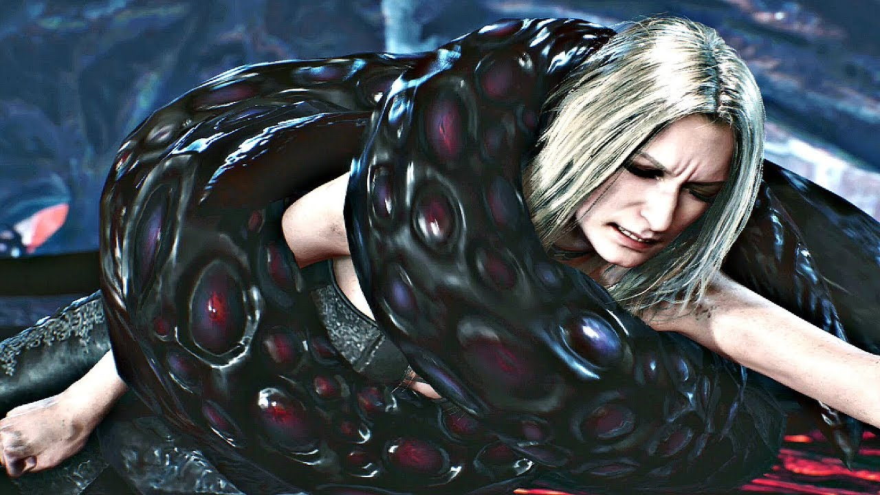 Download DEVIL MAY CRY 5 - Lady & Trish Attacked by Tentacles
