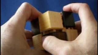Karakuri Cube #2 Japanese Puzzle Box