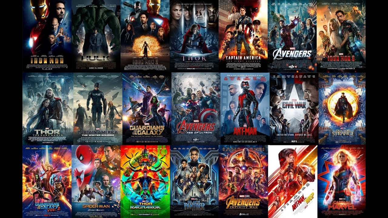Marvel Cinematic Universe MCU Collection List (2008-2019) with High Speed  Download Link