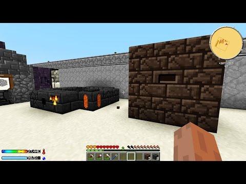 Minecraft Crash Landing #6: LÒ LUYỆN ĐÔI!