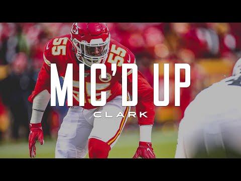 Frank Clark Mic'd Up vs. Raiders 'I Smell Blood!'   Kansas City Chiefs