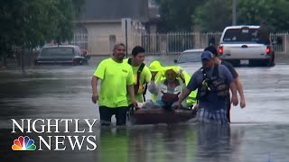 Parts Of Texas Submerged After Heavy Rain Triggers Flash Floods | NBC Nightly News
