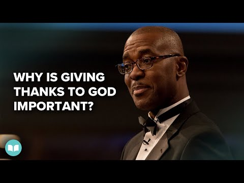 Why Is Giving Thanks to God Important? - Folu Gisanri