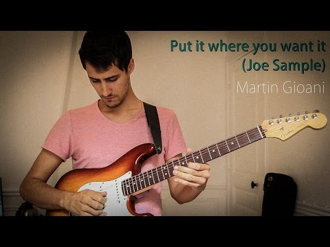 Put it where you want it (Larry Carlton) + Free Backing Track