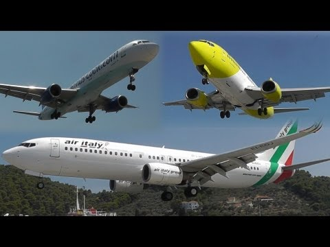 7 Hours of Insane Plane Spotting at Skiathos, the Second St Maarten! Low landings and Jet blasts!
