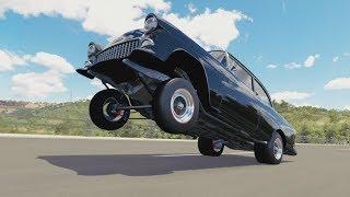 Video Forza Horizon 3 | '55 Hoonigan Bel Air - 1016HP LS3 Wheelie/Drag Build Off, Funny Moments, & More download MP3, 3GP, MP4, WEBM, AVI, FLV Agustus 2017