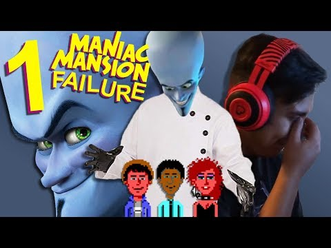 Rescue Attempt Gone Wrong! ll Let's Play Maniac Mansion #1 |