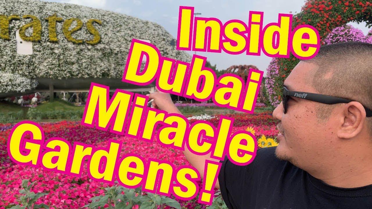 Inside Dubai S Miracle Gardens 2019 Youtube