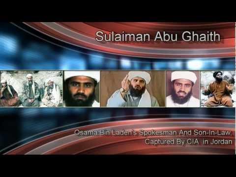 Sulaiman Abu Ghaith Captured By CIA Osama Bin Laden's Spokesman Abu Ghaith Osama Son In Law Captured