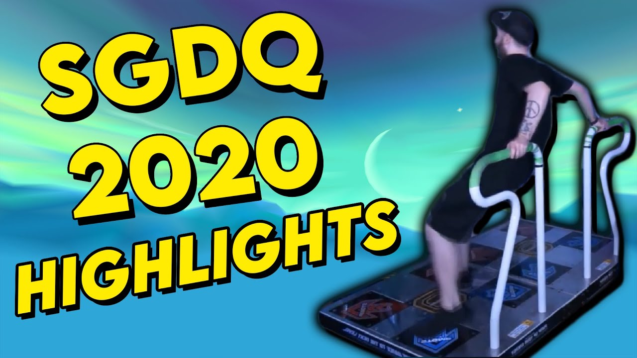 SGDQ 2020 - Cringe / Funny / Best Highlights [1080p]