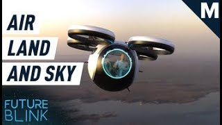 One Day You Might Be Able to Travel by Water, Land, and Sky All in One Vehicle | Future Blink