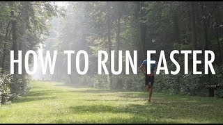HOW TO RUN FASTER || 5k, 10k, Half Marathon