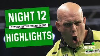 MvG and Anderson 🔥 | Night 12 Highlights | 2021 Unibet Premier League