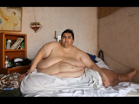 fattest man in the world unbelievable weight of over half ton youtube