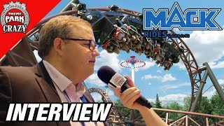 What Makes MACK Rides so Reliable? MACK Rides EXCLUSIVE Interview - Theme Park Crazy
