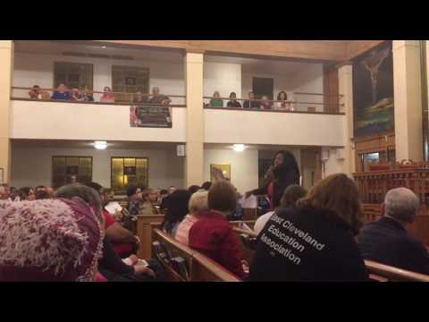 Indivisible and MoveOn.org target Rob Portman at Cleveland town hall