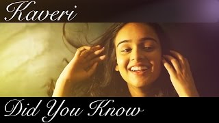 Did You Know (Official Music Video) - Kaveri