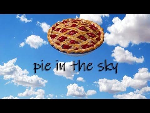 English Idiom(영어숙어) - pie in the sky - YouTube