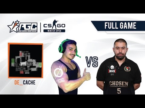 [EN] Chosen5 vs Ground Zero | CACHE | Map 1 | AGC CS:GO | Qualifiers Region 1