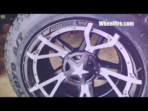 Rockstar 3 Wheels - KMC XD Series - Wheelfire