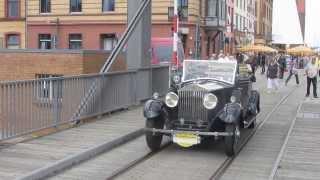 ADAC Deutschland Klassik 2012 in Stralsund - Rolls-Royce 20/25 HP Doctors Coupé
