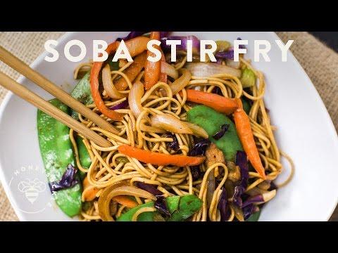 Soba Noodle Stir Fry - Honeysuckle