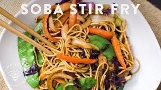 Soba Noodle Stir Fry | Honeysuckle