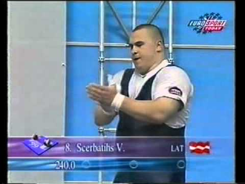 1999 World Weightlifting +105 Clean and Jerk_xvid.avi ...