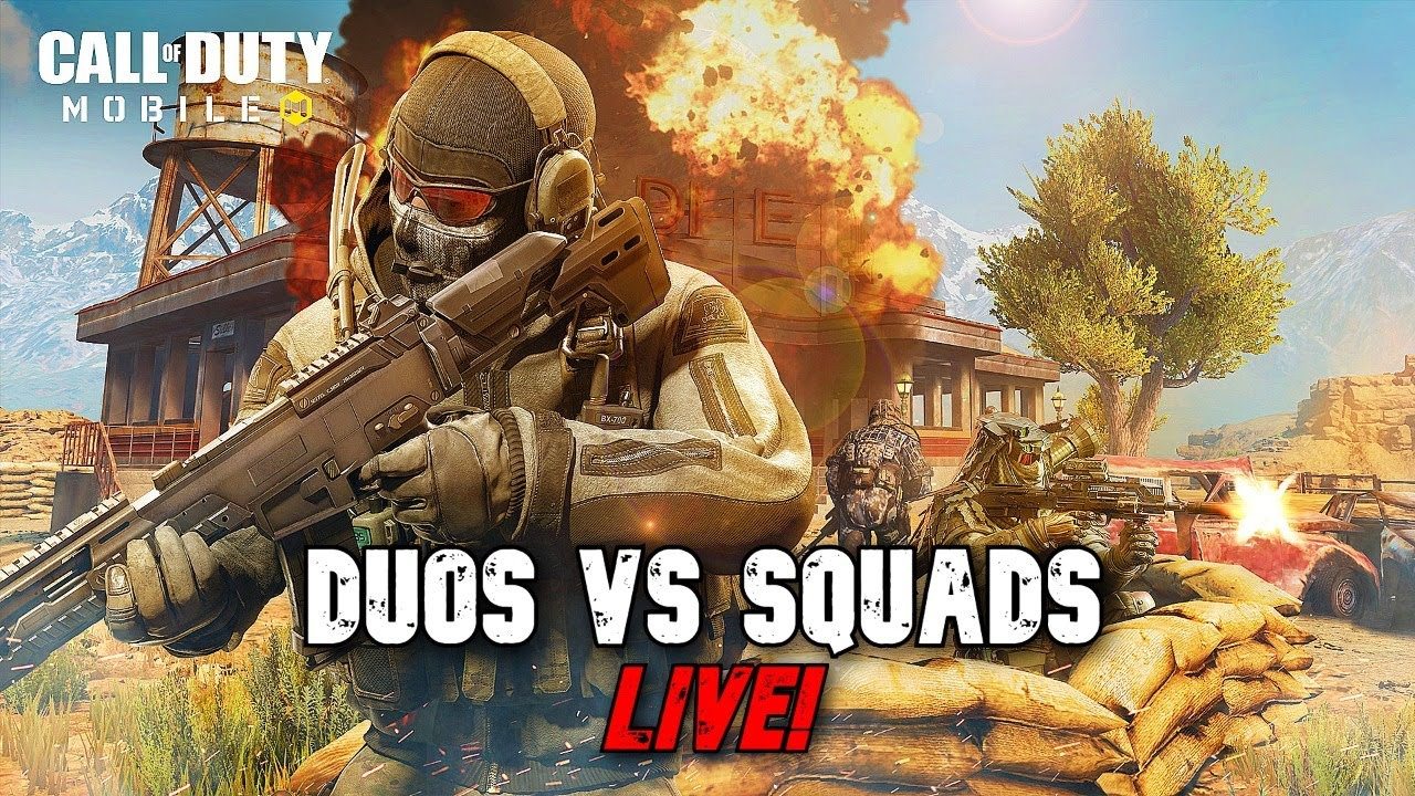 Going duos vs pro squads on LIVE!