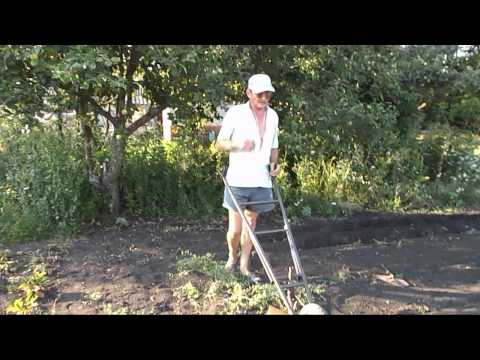 видео: Как ЛЕГКО вспахать огород?