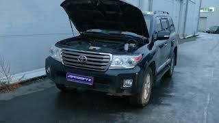Промывка топливной системы дизельного двигателя Toyota Land Cruiser 200 4.5TD