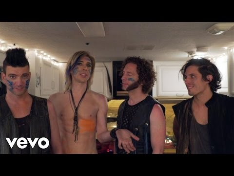 Marianas Trench - This Means War (Behind The Scenes)