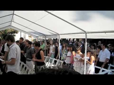 Worship Song at Wedding - YouTube