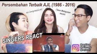 Persembahan Terbaik AJL (1986 - 2016) | SINGERS REACT