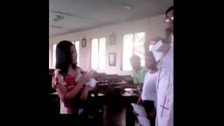 Cebu Priest Berates Unwed Mother 17yrs old During Baptism