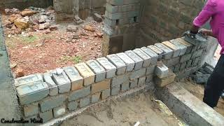 [Hindi/Urdu] How to check brick work is correct or not? How to identify English bond & Flemish bond?