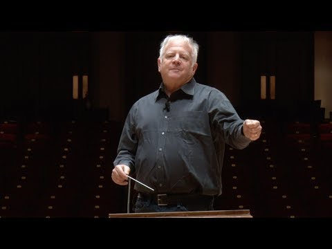 Leonard Slatkin's Conducting School, Lesson Nine: The Use of Your Body to Indicate Dynamics