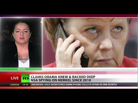 Brazen Bugging: NSA tapped into Merkel's phone