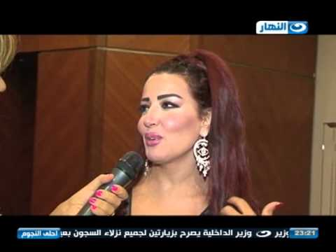 احلى النجوم - لقاء مع الفنانة / سمية الخشاب في مهرجان الأسكندرية السينمائي 2014