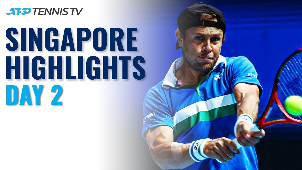 Uchiyama Battles Polmans; Albot Faces Smith | Singapore Open 2021 Day 2 Highlights